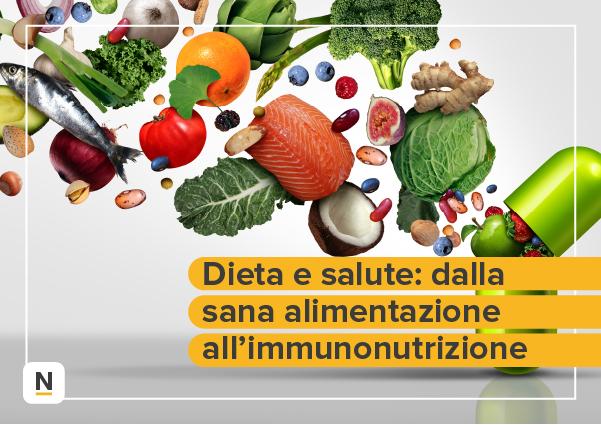 Course Image Dieta e salute: dalla sana alimentazione all'immunonutrizione